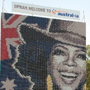 Oprah in Horsley Park