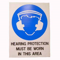Safety Sign | Hearing Protection Must Be Worn