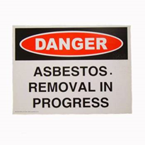 Safety Sign | Asbestos