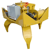 Self Contained Orange Peel Grapple | Builtrite™ 3-Tine