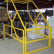 Mezzanine Safety Gate