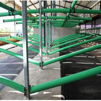 Cow Matting | Green CowSafe Cubicle