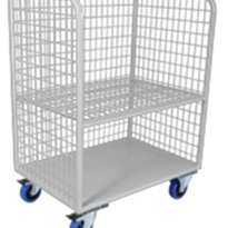 Bulk Flip Up Linen Shelf Trolley | BDT 102