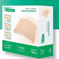 New: HealBand Foam Dressings