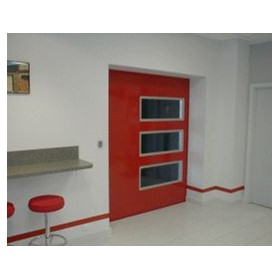 Airport Sliding Door | Steel and Glass