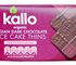 Kallo Organic Belgian Dark Chocolate Rice Cake Thins