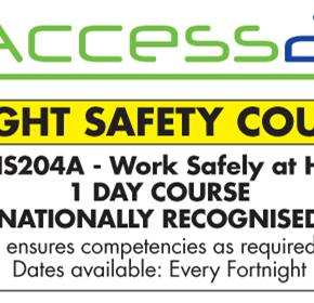 Height Safety Course & Training Program | R11OHS204A