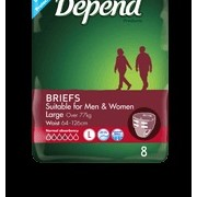 Fitted Incontinence Briefs for Women | Depend