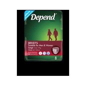 Fitted Incontinence Briefs for Women | Depend®