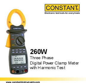 Power Clamp Meter | 260W