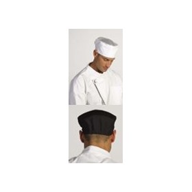 Chef's Hat | Flat Top Mesh Black