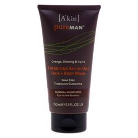 A'kin PureMAN Energising All in One Hair & Body Wash