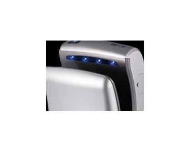 Our elegant hand dryers provide a pleasant hand massage using natural aromas and hygienic touch-free operation.