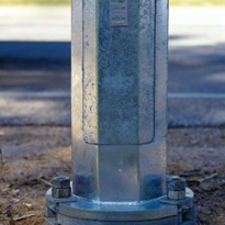 Street Light Pole | Slip Base
