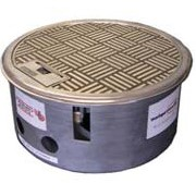 Floor Box | Cast Alloy Satin Silver | FFOB-560
