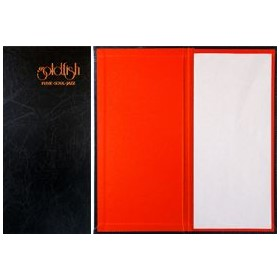 Pocket Menu Cover | A4 Slimline Pocket Cover | T114