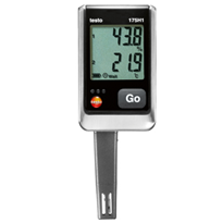Temperature & Humidity Data Logger | Testo 175H1