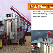 Mobile Grain Dryer | Kinetic Series