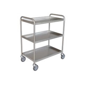 Tray Clearing Trolley | TCT 403SS | 3 Shelf