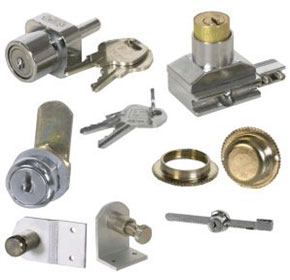 Locks & Catches for Glass Systems