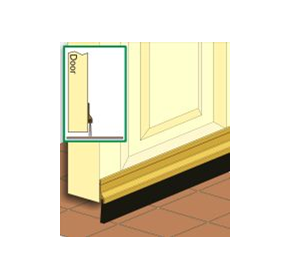 Brush Strip Door Seal | CM2A