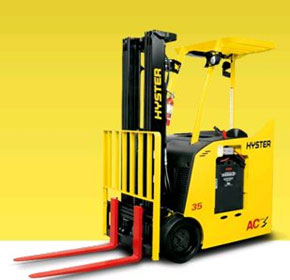 3 Wheel Electric Forklift | Stand-Up | E30–40HSD Series