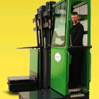 Multi-Directional Stand-On Forklift | Combilift ST-Series