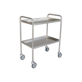 Tray Clearing Trolley - 2 Shelf | TCT 402SS