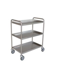 Tray Clearing Trolley - 3 Shelf | TCT 403SS