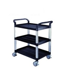 Plastic Tray Multipurpose Trolley | PTT803