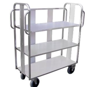 Linen Trolley | Stainless Steel Large | LTL 301SS