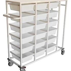 Storage Basket Multipurpose Trolley | SBT 15R