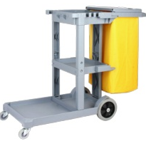 Plastic Janitor Cart | PJC600