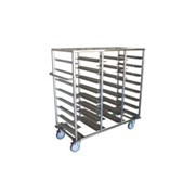 Food Tray Dispenser - FTD 424SS | Hospital Storage and Shelving