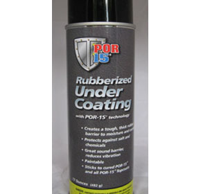 Rubberised Under Coating | POR-15®