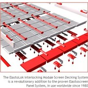 Interlocking Modular Screen Decking System | ElastoLok