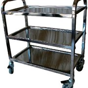 Stainless Steel Service Trolley | 3 Tier