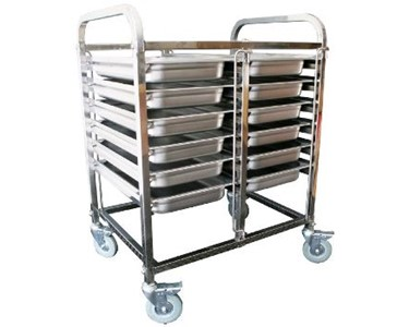 Short Duo Gastronorm Trolley | RDTGS2