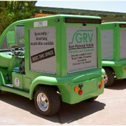 Gum Removal Vehicle