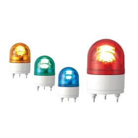 LED Revolving Warning Light - RHE 100mm