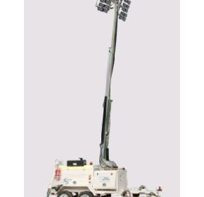 Heavy Duty SX LED Lighting Tower | Tandem Axle