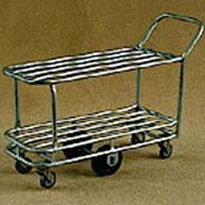Tubular Double Deck Trolley | TS/055
