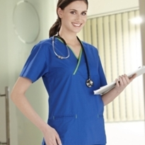 Ladies Nursing Scrubs