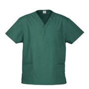 Nursing Scrub Top | Hunter Green - Unisex
