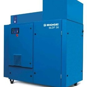 Oil Injected Screw Compressor | SLF Series | SLF61
