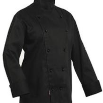 Chef Jacket | Pro Chef | Traditional Long Sleeve Black