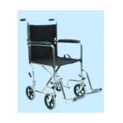 Wheel Chair | Economy Chrome Plated Transporter
