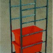 Tote Box Trolley | Five Tier | TSS/025