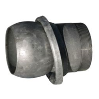 Pipe Coupling | Male | Galvanised Steel | F15
