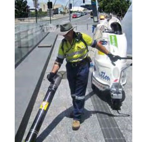 Brisbane City Council introduces Glutton into City Cleansing Fleet